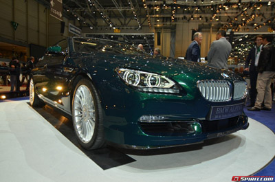 Женева 2014: Alpina B6 xDrive Gran Coupe